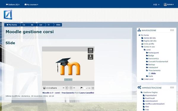 deutsche bank Moodle Theme design php Responsive