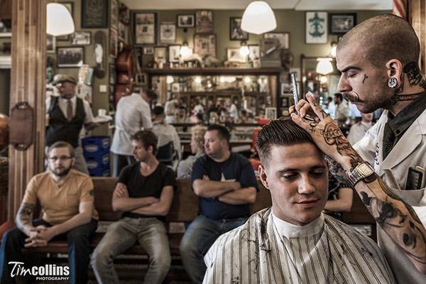 schorem barber shop for playboy germany magazine on behance