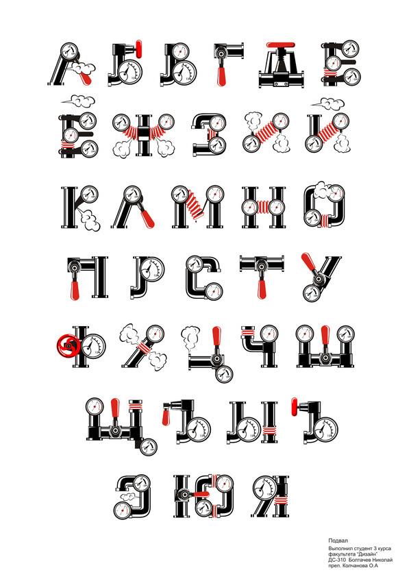 Font Design On Typography Served