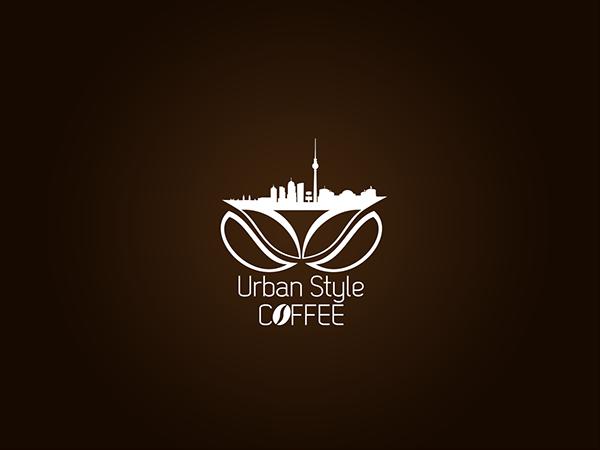 urban style coffee logo design on behance
