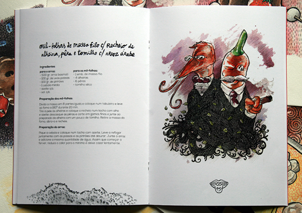 Recipes book on Student Show