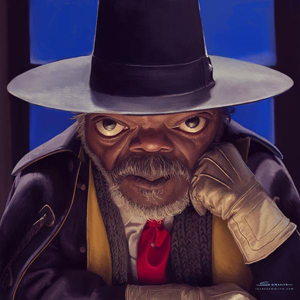 Samuel L. Jackson by Lucas Somariva