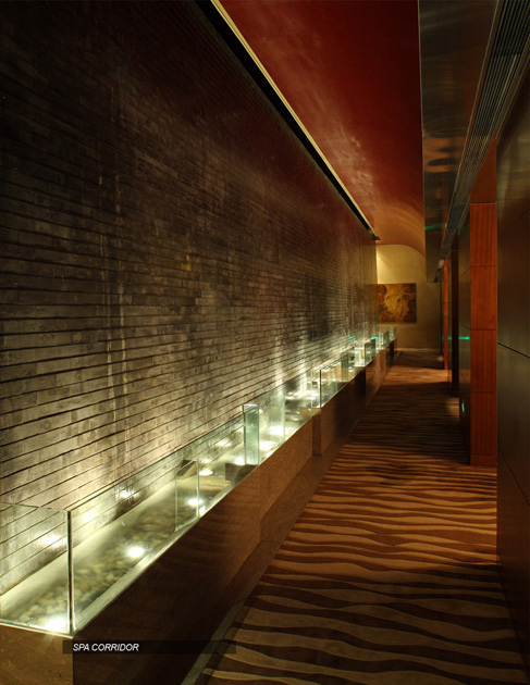 Shangri la hotel spa xian china on behance for Design hotel xian