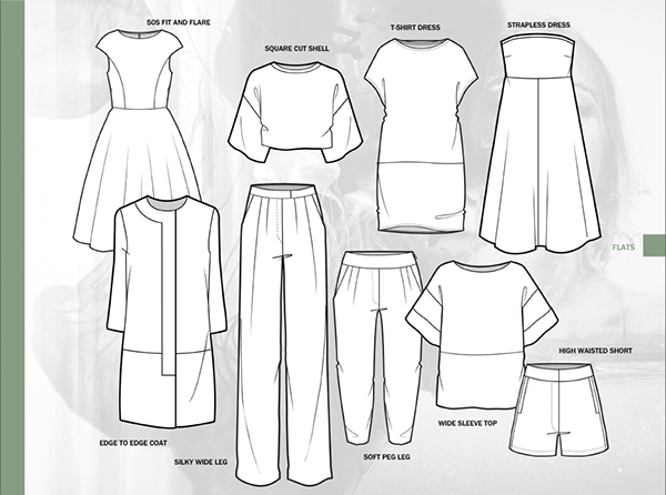 Cad Clothing Design | Fashion Cad Project 2013 On Behance