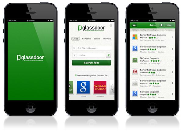 Glassdoor Mobile on Behance
