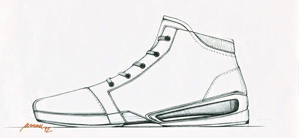 Adidas Originals: Project 1 on Behance | footwear SKETCHING