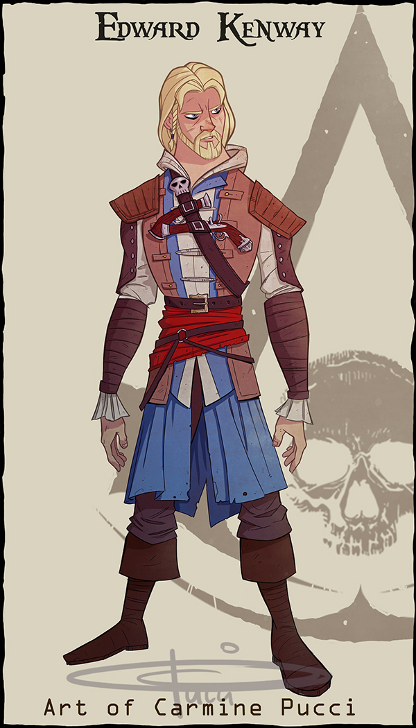 My Version Of Edward Kenway From Assassin S Creed 4 On Behance