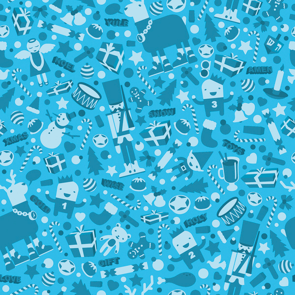 christmas wrapping paper 2009 on behance - Cheap Christmas Wrapping Paper