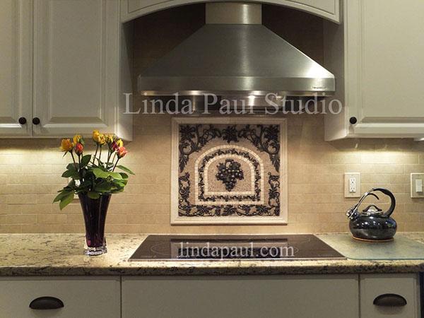 kitchen backsplash murals ideas linda paul studio on