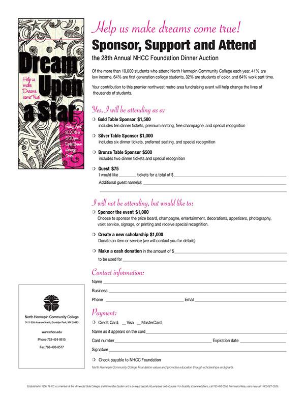 silent auction bid form template Success