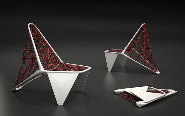 Superior Folding Web Chair On Behance