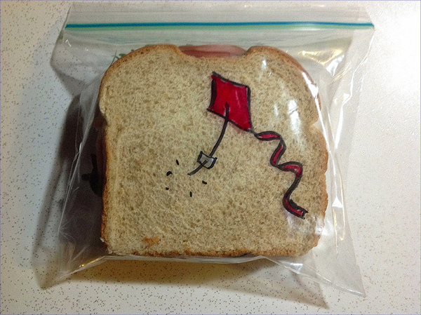 This is Sandwich Bag Drawing