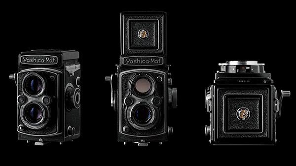 vintage camera Matt Geeling Product Photography still life video camera Film Camera yashica-mat old school cameras