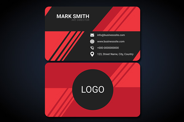 Business Card Mockup PSD file | Free Download