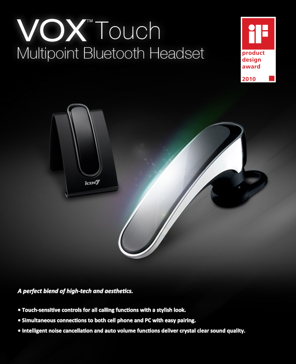 Multipoint Bluetooth Headset On Behance