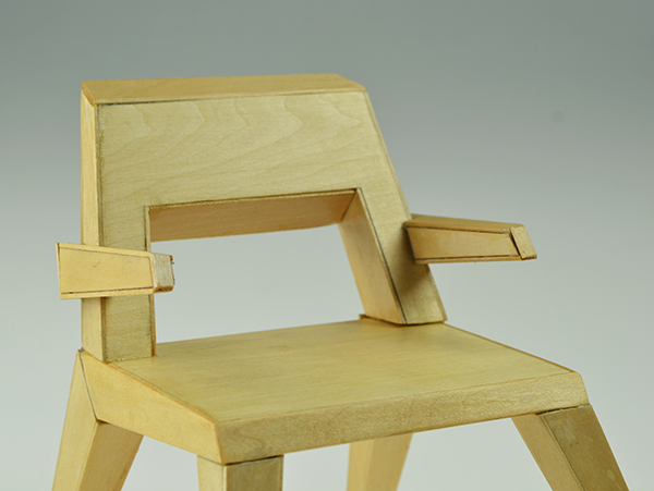 Chair Model 1x4 Scale On Risd Portfolios
