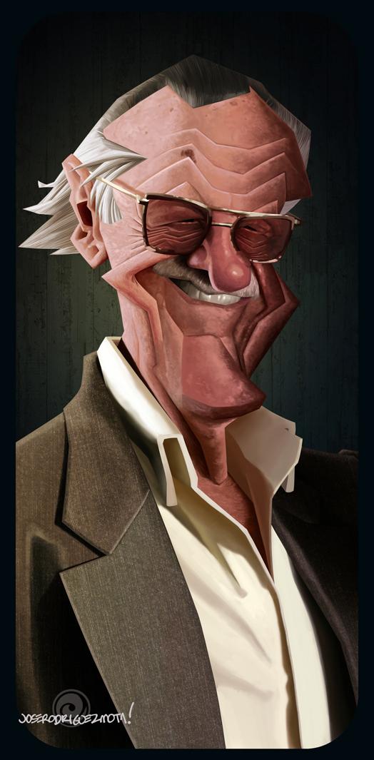 director Movies portrait caricatura retrato pulp fiction reservoir dogs kill bill Stan Lee marvel Aerosmith