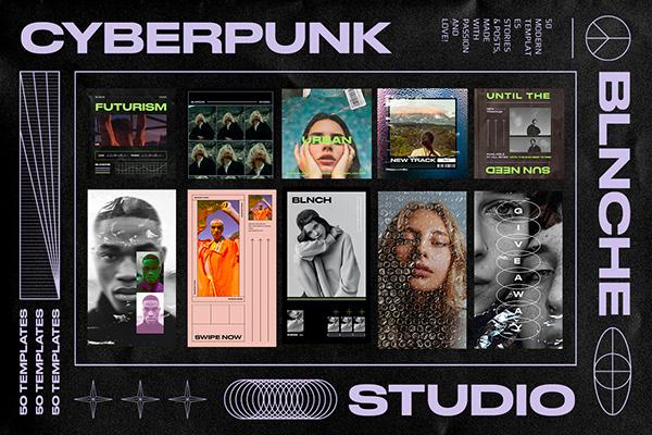 CYBERPUNK - Instagram Templates