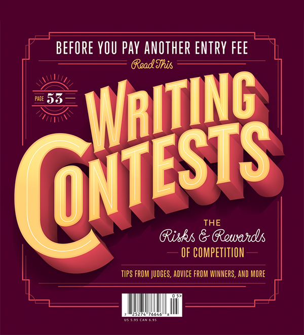 jordan  Metcalf poets & writers  typography Retro lettering Competition