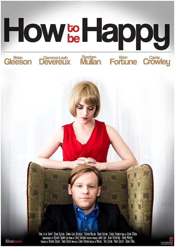 feature film how to be happ poster