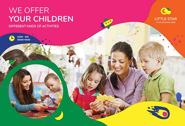 Flyer (2020) - We Offer Your Children