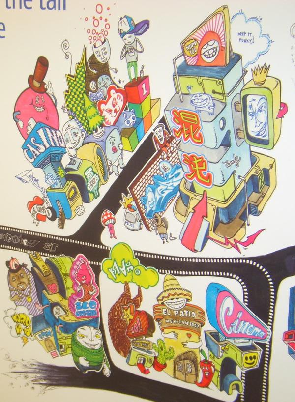 Character Design Jobs London : The krah nokia advert on behance