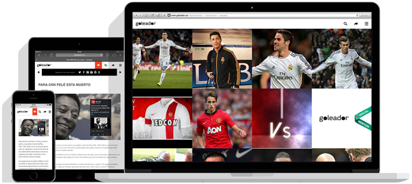 football soccer video sports minimal clean brand Games Responsive mobile colorful Blog news photo AWWWARDS