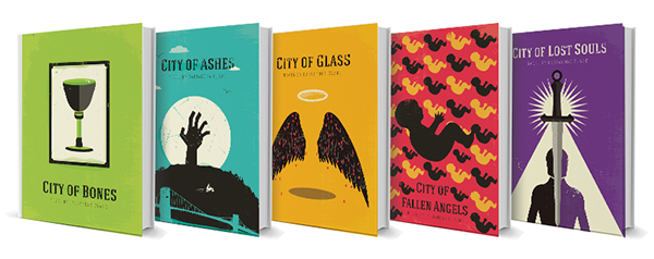 Book Cover Portadas Office ~ The mortal instruments redesigned book covers on behance