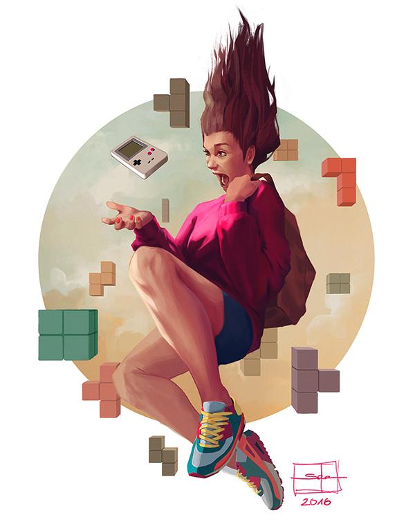 Tetris by Salena Barnes