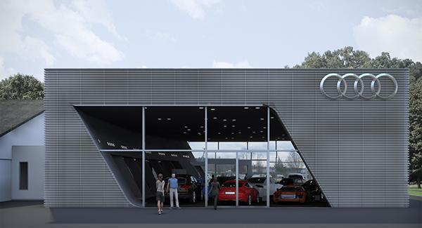 Audi Showroom Bavaria, Germany On Behance