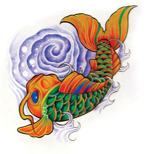 Chameleon Arts Tattoo Flash: Made With Love On Behance