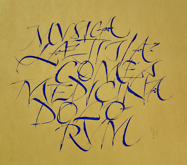 Calligraphy Different Styles And Periodes 1 On Behance