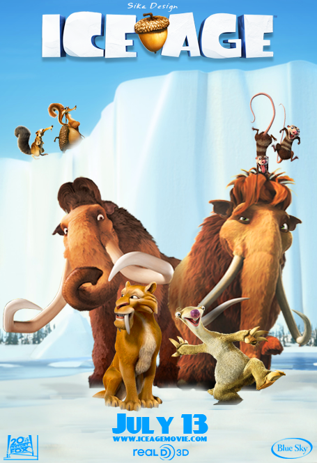 Ice Age Poster on Behance