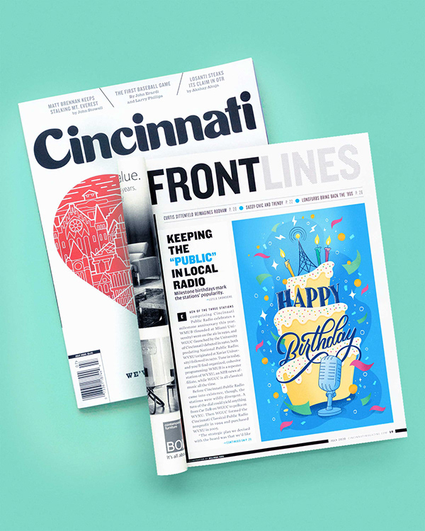 Cincinnati Magazine Editorial Illustration