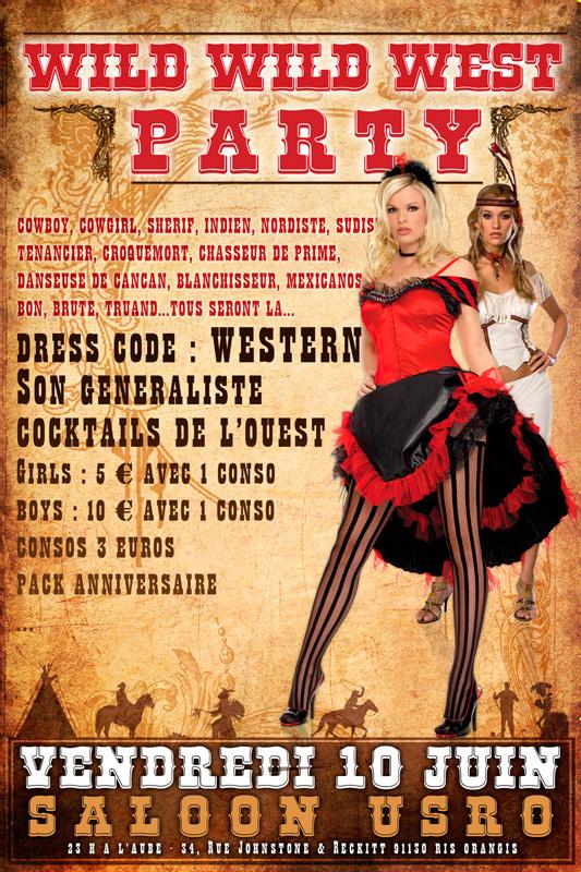 Wild Wild West Party on Behance