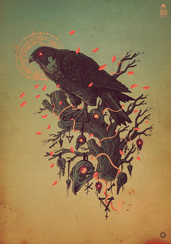 Falco peregrinus by Sebastian Skrobol