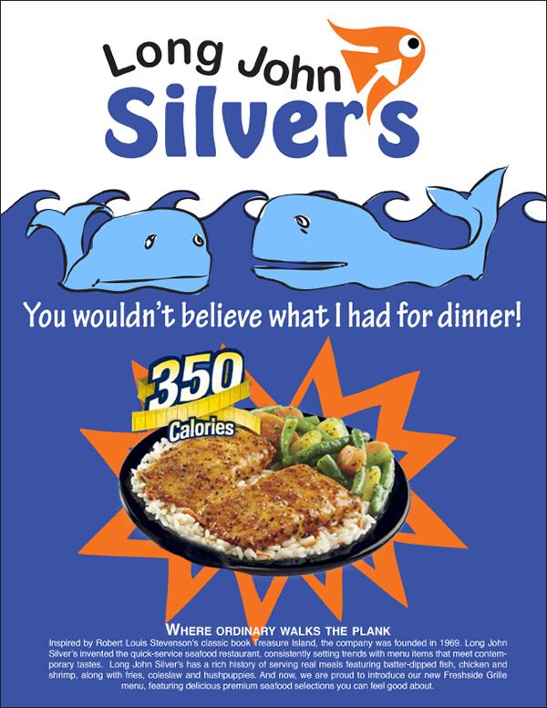 Long john silver 39 s on behance for Long john silver s fish batter recipe