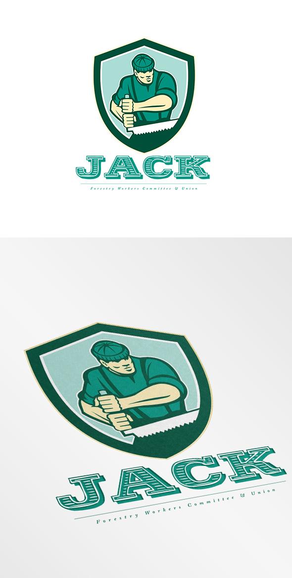 Jack Forestry Union Logo On Behance