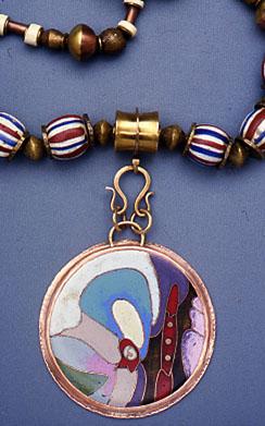 cloisonne enamel jewelry on behance