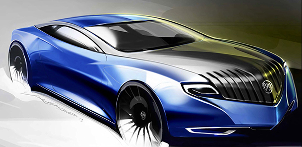 Buick Skylark Concept On Artcenter Gallery