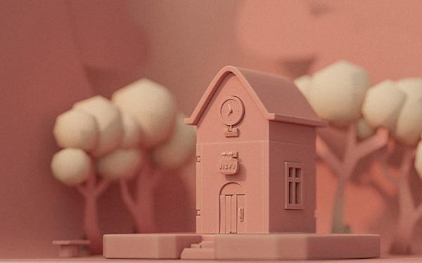"''Morning Bliss"" 3D Animated Short"