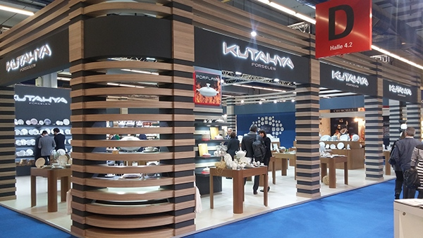 Exhibition Stand Industrial : Kütahya porselen exhibition stand ambiente on
