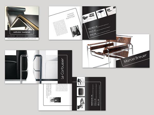 Bauhaus tubular steel furniture exhibition on pantone for Design katalog