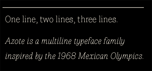 Typeface Mexican font lines pattern type