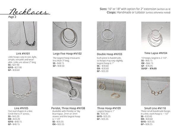 Elaine B Jewelry Linesheet - Spring 2015 on Behance
