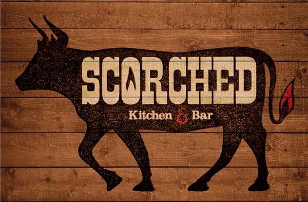 restaurant BBQ steak bull cow menu presskit