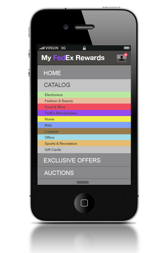 fedex rewards website
