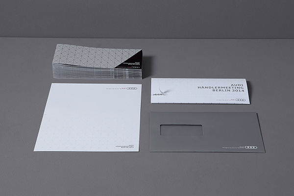 berlin Händlermeeting dealermeeting Automotiv Messe Fair silver print Lasercut
