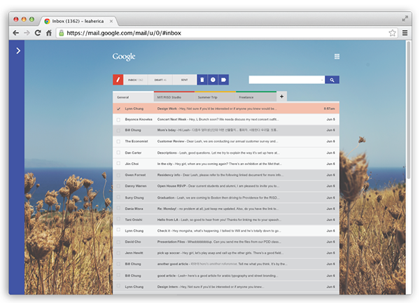 GMail gchat google Gmail redesign Email Interface