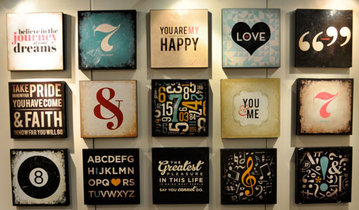 while working for dcwv in their home decor department i had the opportunity to develope a line of wall art exclusively for the target home department - Target Home Decor